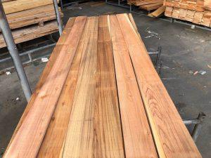 Japanese Cedar boards for fence