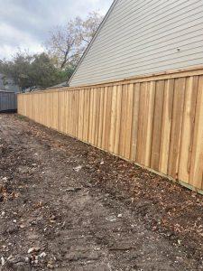Japanese Cedar Wooden Fence (crc) In Dallas