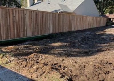 Wood Fence Installation